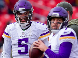 Vikings Case Keenum Teddy Bridgewater