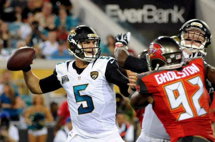 Bortles gets playoff win for Jaguars