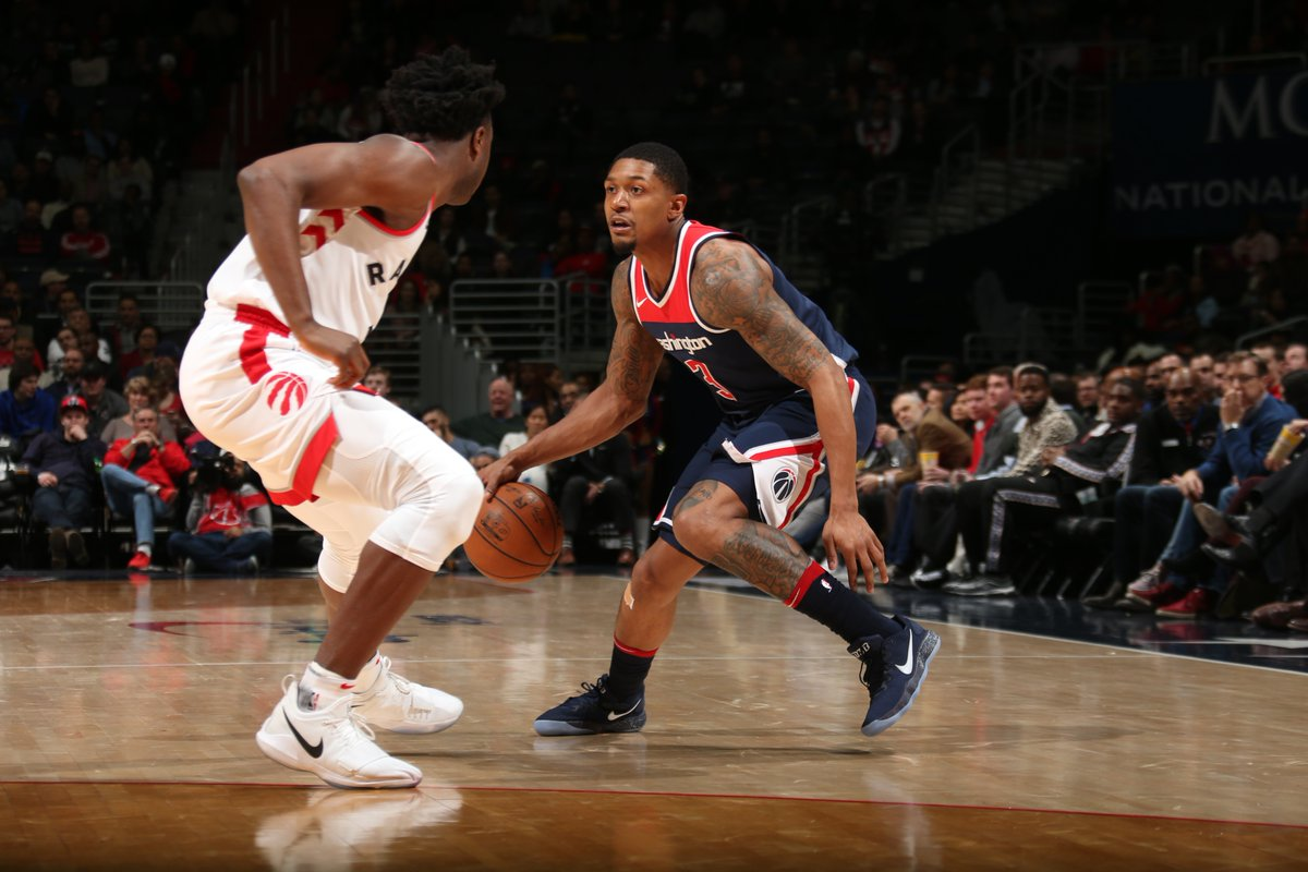 Raptors overrun by Beal and the Wizards in second half