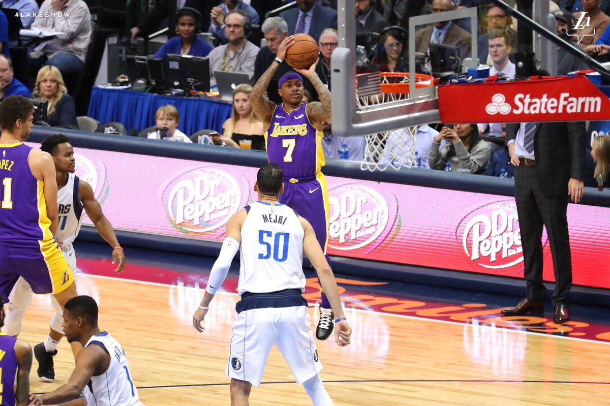 Isaiah Thomas Comes Off Bench in First Game With Lakers