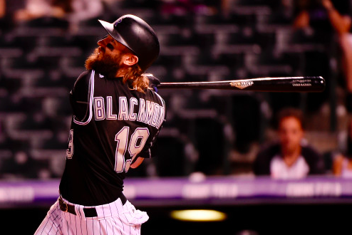 Colorado Rockies Charlie Blackmon