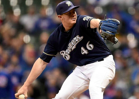 Milwaukee Brewers Corey Knebel