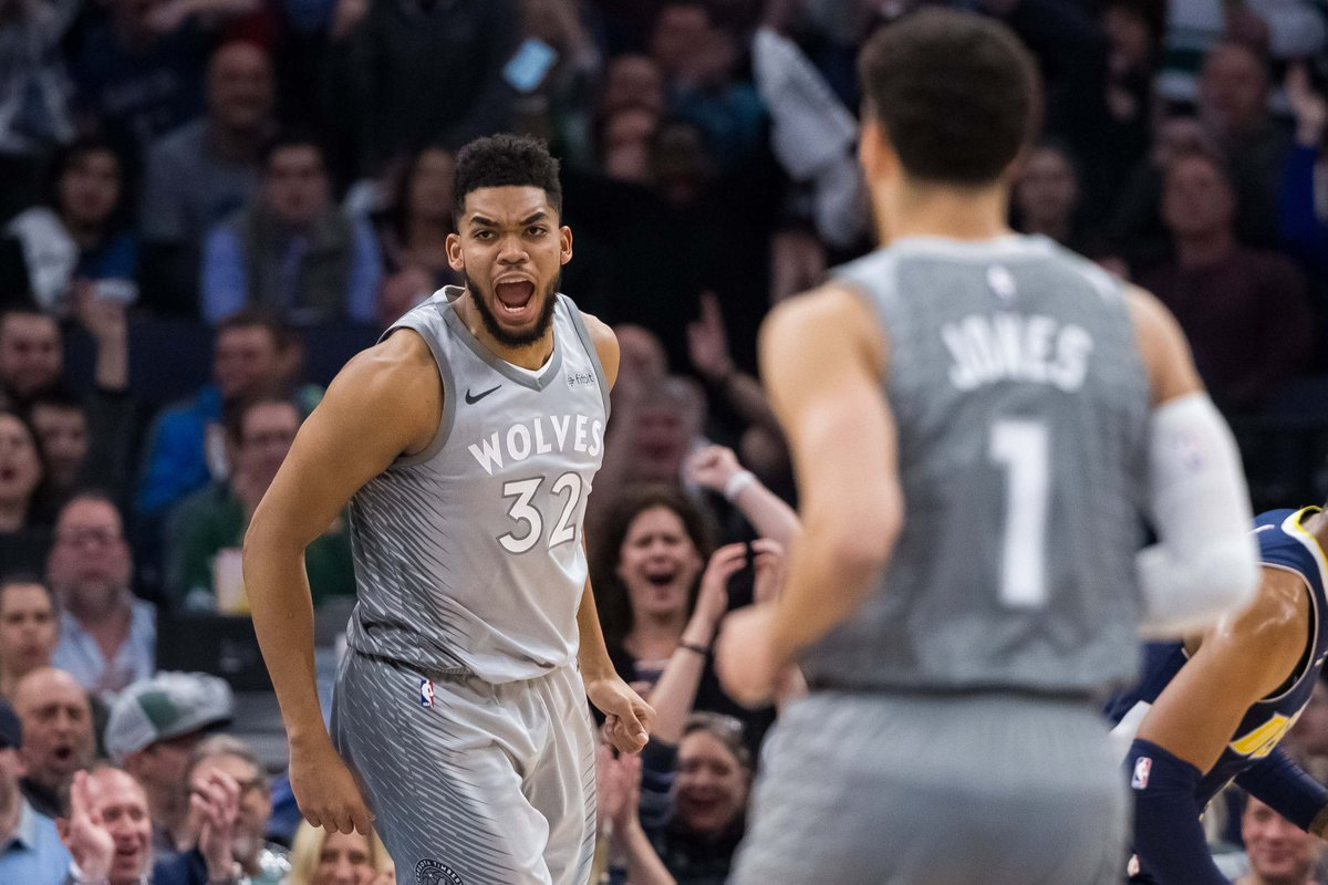 Timberwolves Clinch Playoff Berth In Overtime Thriller