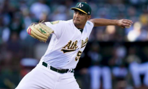 Oakland Athletics Sean Manaea