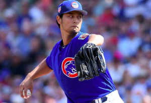 Chicago Cubs Yu Darvish