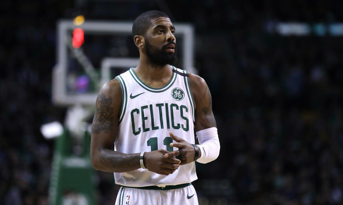 Celtics' Irving coy on possible reunion with LeBron
