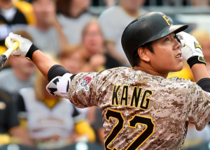 Pittsburgh Pirates Jung Ho Kang