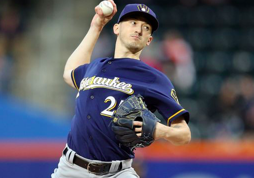 Milwaukee Brewers Zach Davies