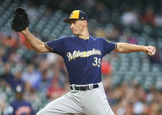 Milwaukee Brewers Brent Suter
