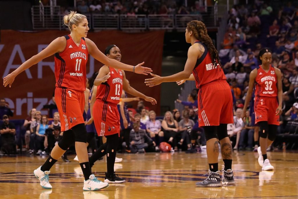 Mystics vs Wings