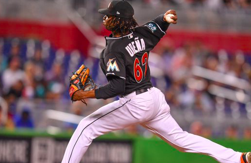 Miami Marlins Jose Urena