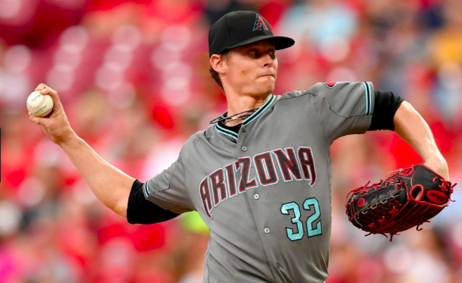 Arizona Diamondbacks Clay Buchholz