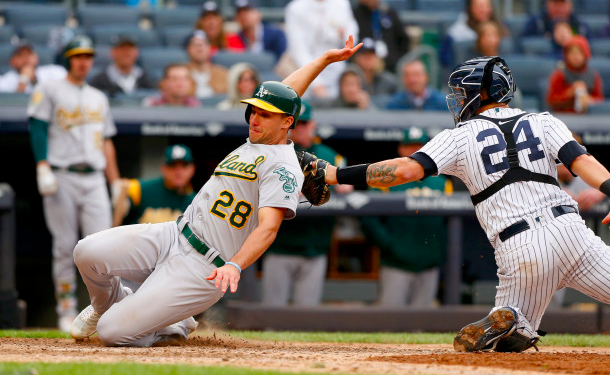 New York Yankees Oakland Athletics