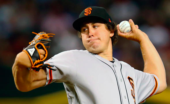 San Francisco Giants Derek Holland