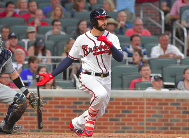 Atlanta Braves Nick Markakis