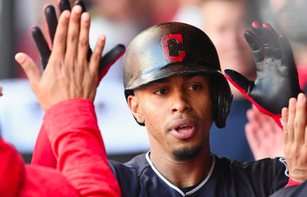 Cleveland Indians star Francisco Lindor out with sprained calf