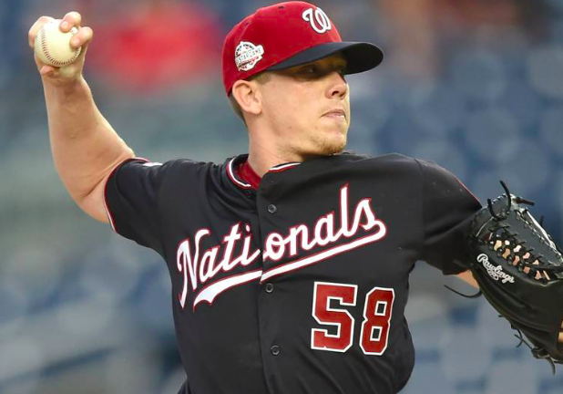 Washington Nationals Jeremy Hellickson