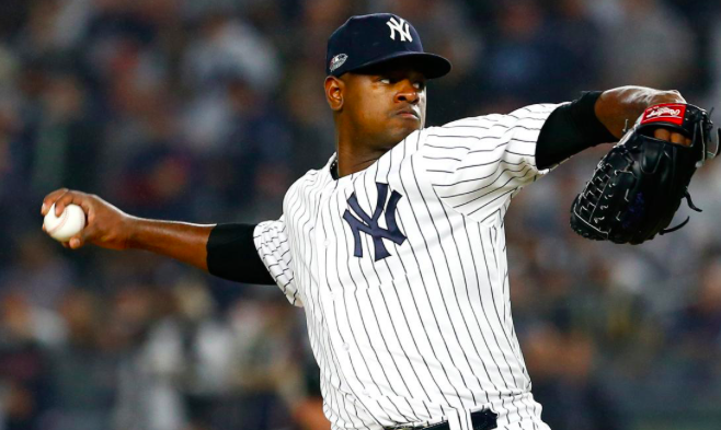 New York Yankees Luis Severino