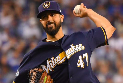 Milwaukee Brewers Gio Gonzalez