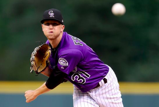 Colorado Rockies Kyle Freeland