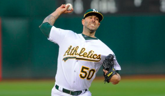 Oakland Athletics Mike Fiers
