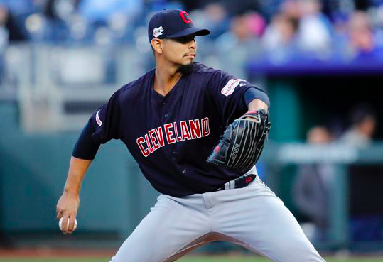 Cleveland Indians Carlos Carrasco