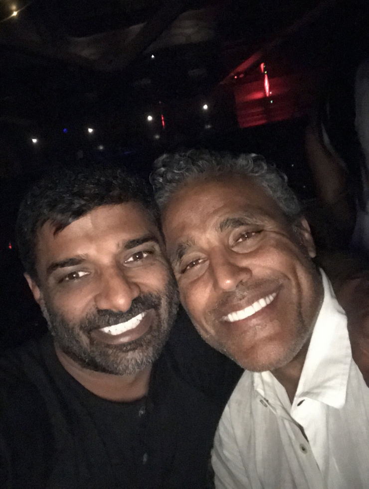 Rick Fox and One Time Best Friend Amit Raizada