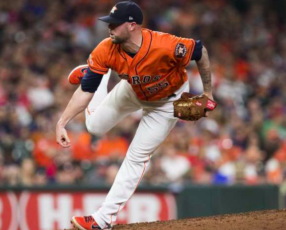 Houston Astros Ryan Pressly