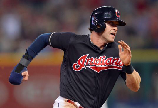 Cleveland Indians Tyler Naquin