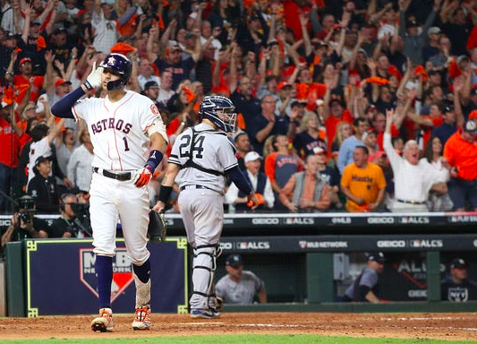 ALCS Astros vs Yankees