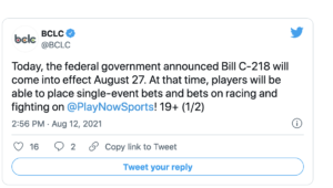 BCLC Single Game Sports Betting in Vancouver